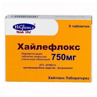 Хайлефлокс таблетки инструкция по применению, отзывы, описание.