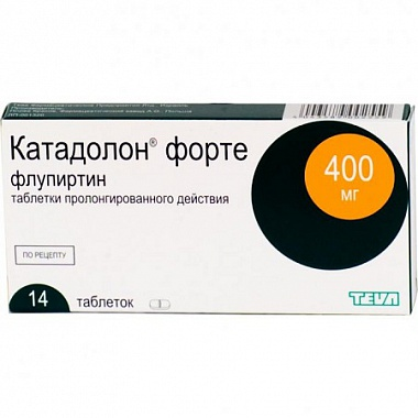 Катадолон таблетки — инструкция по применению, отзывы.