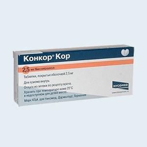 Конкор кор – аналоги дешевле, цена в аптеках, инструкция по применению.